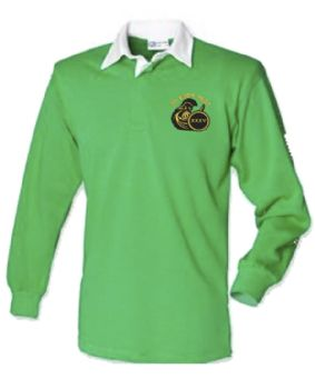 35 Engr Regt Embroidered Plain Rugby Shirt